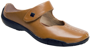 Ros Hommerson Luggage Tan Candice Leather Mule - Women
