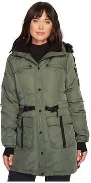 Blanc Noir Knight Parka Women's Coat