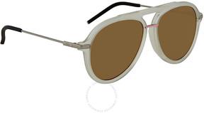 Fendi Fantastic Brown Aviator Men's Sunglasses FF M0011/S 900/70