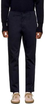 Acne Studios Navy Ayan Satin Trousers