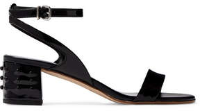 Tod's Gommino Patent-leather Sandals - Black