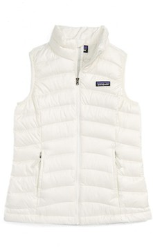 Patagonia Girl's Water Repellent Down Sweater Vest