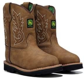 John Deere Kids' Everyday Round Toe Cowboy Boot Toddler