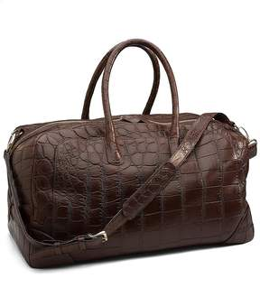 Brooks Brothers Crocodile Weekender