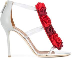 Malone Souliers floral embellished strappy sandals