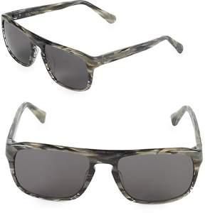 Zac Posen Women's Cain 56MM Rectangular Sunglasses