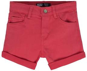 Levi's Girls 4-6x Heart Stretch Shorts