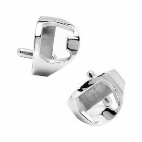 Accessories Stainless Steel Bottle Opener Cufflinks
