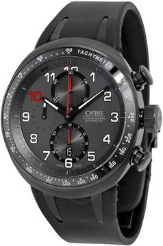 Oris Darryl O Young Limited Edition Grey Dial Black Rubber Men's Watch 774-7611-7784SET