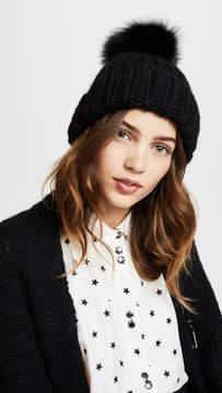 Eugenia Kim Rain Pom Beanie Hat
