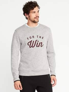 Old Navy Graphic Go-Dry Fleece Sweatshirt for Men
