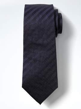 Banana Republic Dot Stripe Silk Nanotex® Tie