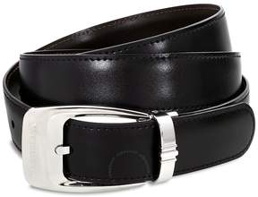 Montblanc Casual Reversible Leather Belt - Black/Brown