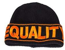 Versace Women's Black Wool Hat.