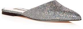 Sarah Jessica Parker Women's Glitter Pointed Toe Mules
