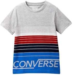 Converse Multi Stripe Tee (Big Boys)