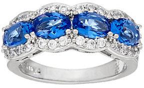Elizabeth Taylor The Simulated Gemstone Band Ring
