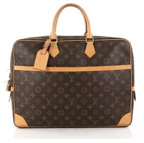 Louis Vuitton Pre-owned: Porte-documents Voyage Soft Compartment Briefcase Monogram Canvas.