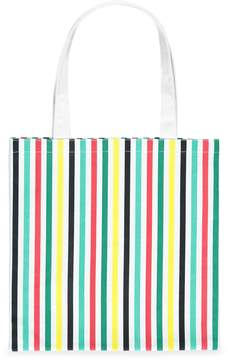 Forever 21 Multicolor Striped Eco-Tote