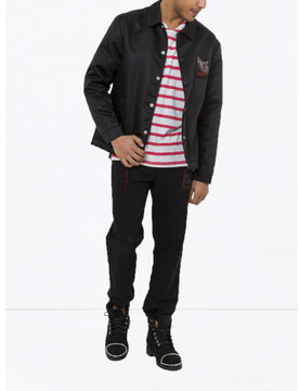 Alexander Wang SLOW AND STEADY PRINTED COACHS JACKET