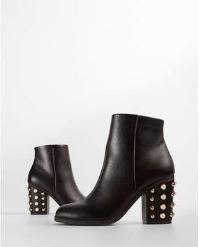 Express pearl heeled boots