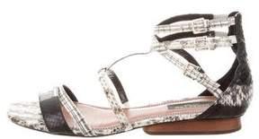 Derek Lam Python Gladiator Sandals