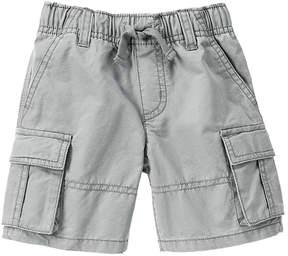 Gymboree Warm Gray Basic Cargo Shorts - Infant & Toddler