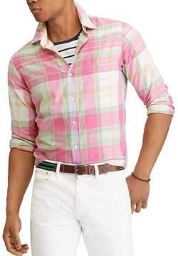 Polo Ralph Lauren Madras Classic Fit Button-Down Shirt