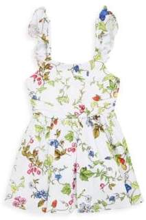 Milly Minis Toddler's, Little Girl's& Girl's Floral-Print Maggie Dress