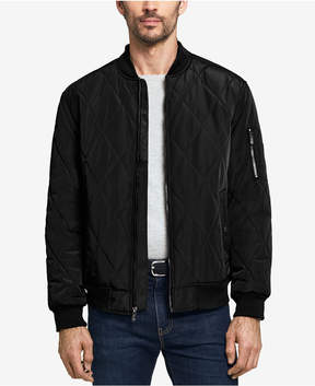 Weatherproof Men's Quilted Baseball Bomber Jacket, Created for Macy's