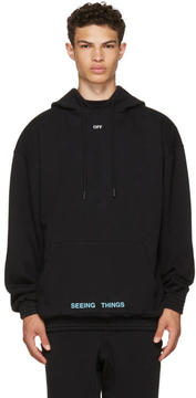 Off-White Black 1991 Over Hoodie