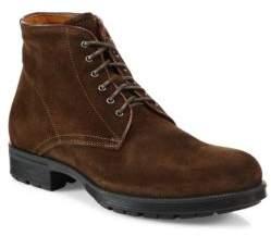 Aquatalia Harvey Suede Work Boots