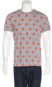 Kris Van Assche Horse Print T-Shirt