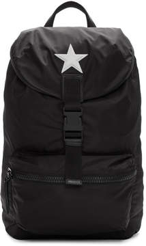 Givenchy Black Nylon Star Obsedia Backpack