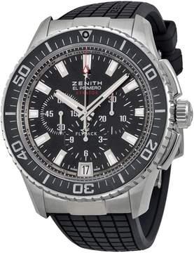 Zenith El Primero Flyback Automatic Black Dial Men's Watch