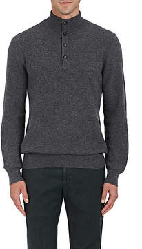 Luciano Barbera Men's Honeycomb-Knit Cashmere Sweater
