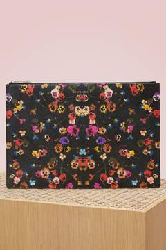 Givenchy Pansies Clutch