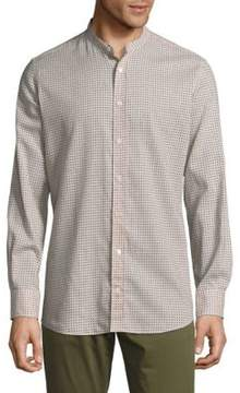 Luciano Barbera Polka Dots Button-Down Shirt