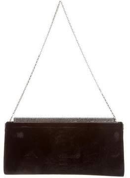 Judith Leiber Velvet Shoulder Bag