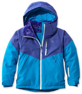 L.L. Bean Kids' Waterproof Patroller Ski Jacket, Colorblock