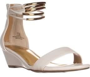 Thalia Sodi Ts35 Leyna Ankle-cuff Wedge Dress Sandals