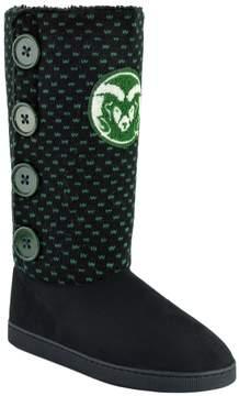 NCAA Women's Colorado State Rams Button Boots