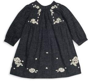 Bonpoint Baby's & Toddler's Floral Long-Sleeve Blouse
