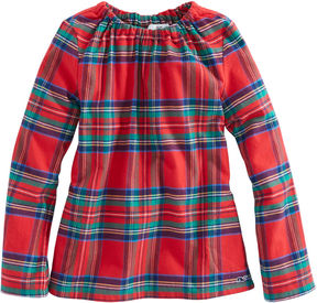 Vineyard Vines Girls Party Plaid Popover