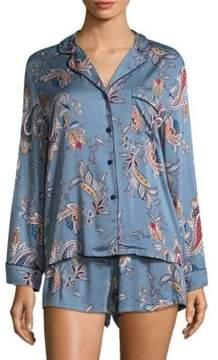Jonquil Paisley Tapestry Two-Piece Pajamas Set