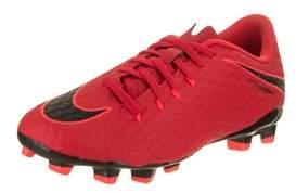 Nike Jr Hypervenom Phelon Iii Fg Soccer Cleat.