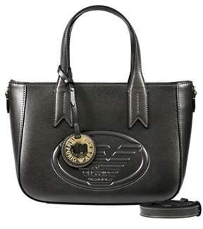 Emporio Armani Y3d083 Yh18a 80233 Steel Tote Handbag.