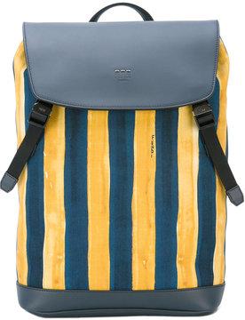 Fendi watercolour striped backpack
