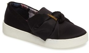 Ted Baker Women's Deyor Bow Slip-On Sneaker