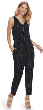 Apt. 9 Women's Zipper Accent Jumpsuit